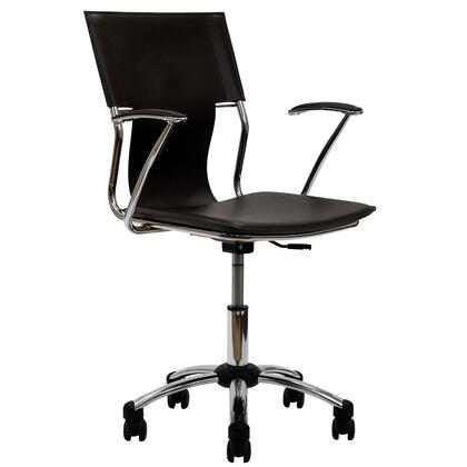 """Modway EEI198BRN 22"""" Adjustable Contemporary Office Chair"""
