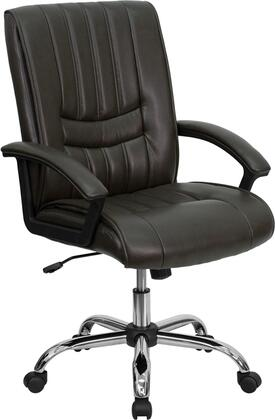 """Flash Furniture BT9076BRNGG 25.25"""" Adjustable Contemporary Office Chair"""
