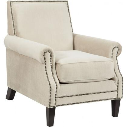 Signature Design by Ashley 2970121 Kittredge Series Armchair Fabric Wood Frame Accent Chair