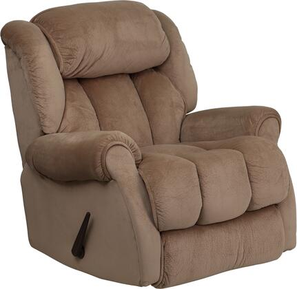Flash Furniture AM96502050GG Contemporary Champion Series Contemporary Microfiber Wood Frame  Recliners