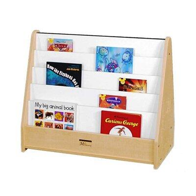 Mahar M51025BR Childrens  Wood Magazine Rack
