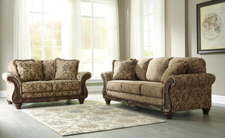 Milo Italia MI5301SLTOPA Ashlynn Living Room Sets