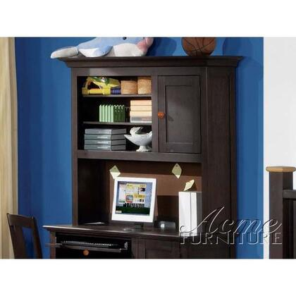 Acme Furniture 119HH All Star X Desk Hutch in Espresso