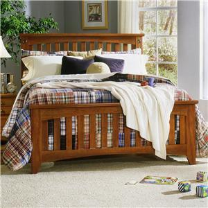 Standard Furniture 5716A City Park Series  King Size Panel Bed