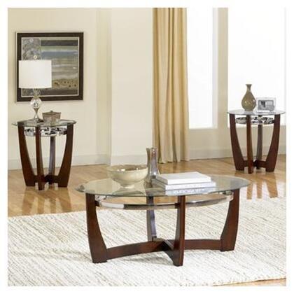 """Standard Furniture 22993 32"""" Transitional Living Room Table Set"""