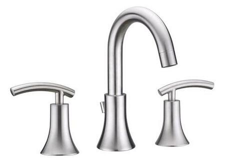 Virtu USA Athen PS-268x Wide Spread Faucet with 1.5 GPM Flow Rate, Washerless Valve and Lever Handles in X
