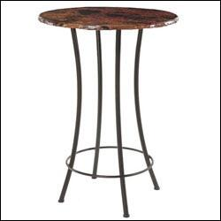 Stone County Ironworks 900-580 Bistro Bar Table 40""