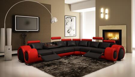 VIG Furniture VGEV40875 Divani Casa Series Stationary Bonded Leather Sofa