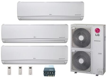LG 704615 Triple-Zone Mini Split Air Conditioners