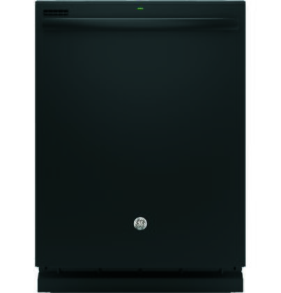 "GE GDT535P 24"" Energy Star Built In Dishwasher with 14 Place Settings, 4 Cycles, 55 dBA, Silverware Jets, SpaceMaker Basket, Steam PreWash and Piranha Food Disposer, in"