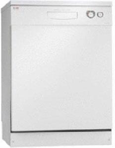 Asko D5122AXXLW  White Built-In Full Console Dishwasher with
