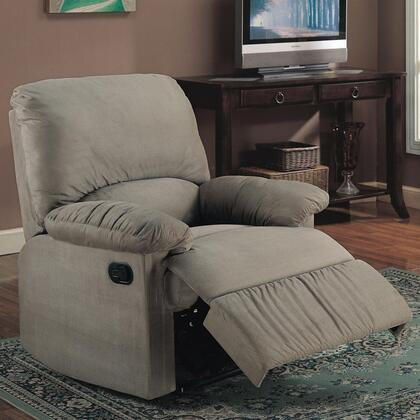 Coaster 600267G Casual Fabric Wood Frame  Recliners