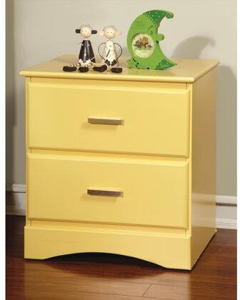 Furniture of America CM7941YWN Prismo Series  Night Stand