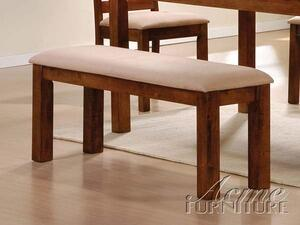 Acme Furniture 16814 Olivia Series Kitchen Armless Wood Fabric Bench