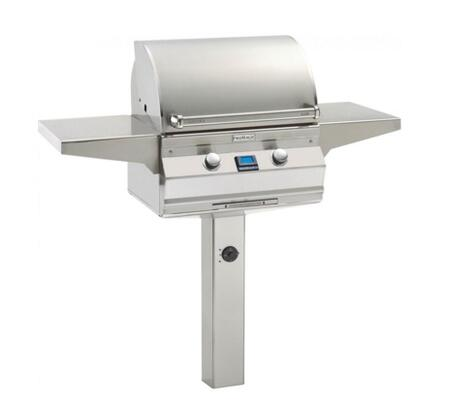 "FireMagic A430S6L1PX6 Aurora 55.75"" Natural Gas Grill with One Infrared Burner and Digital Thermometer"