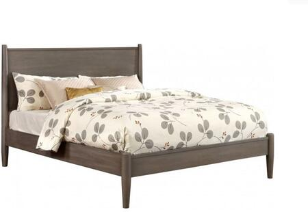 Furniture of America CM7386GYFBED Lennart Series  Full Size Panel Bed