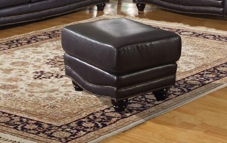 Acme Furniture 50109 Maloney Series Modern Bonded Leather Ottoman
