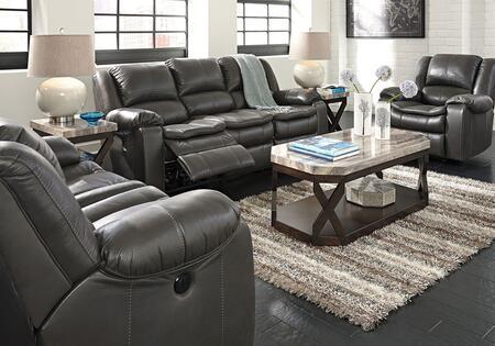 Milo Italia MI6165SET3PCGRY Luciano Living Room Sets