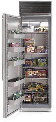 Northland 24AFSSL Built-In Upright Counter Depth Freezer with 15.1 cu. ft. Capacity Stainless Steel Door Left Hinge Automatic Defrost  Appliances Connection