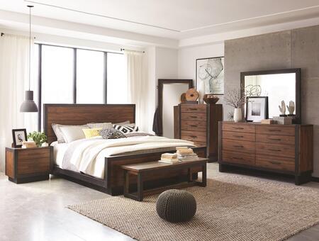 Scott Living Ellison 7 Piece King Size Bedroom Set