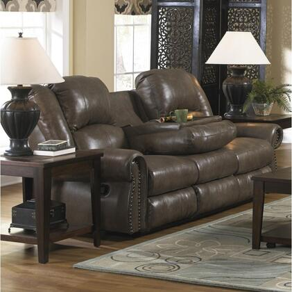 Catnapper 64505127428307428 Livingston Series  Leather Sofa