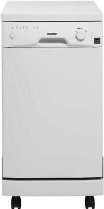 Danby DDW1899WP Designer Series Portable Full Console Dishwasher
