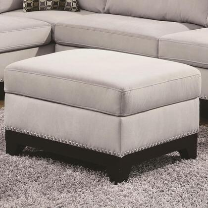 "Coaster Mason Collection 37"" Storage Ottoman with Nail Head Trim, Welt Cording, Kiln Dried Hardwood Frame and Velvet Upholstery in"