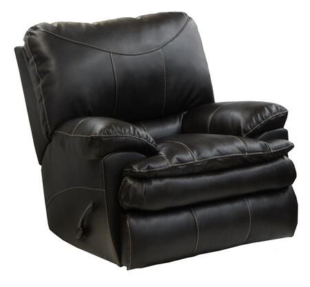 """Catnapper Perez Collection 4140-2- 42"""" Power Rocker Recliner with Bonded Leather Upholstery, Luggage Stitching and Pub Back Design in"""