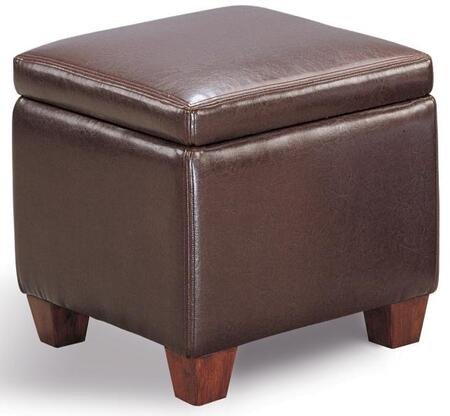 Coaster 500903 Milano Series Traditional Microfiber Ottoman