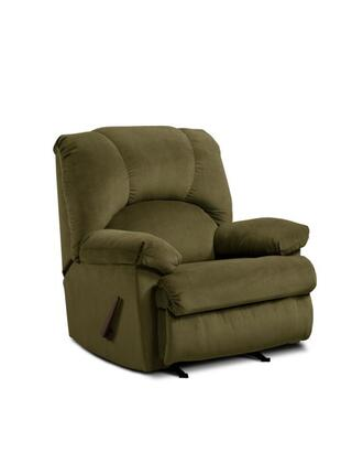 Chelsea Home Furniture 478500MLD Charles Series Contemporary Fabric Wood Frame Rocking Recliners