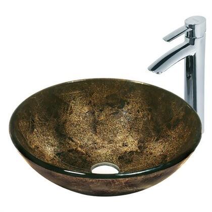 Vigo VGT122 Chrome Bath Sink