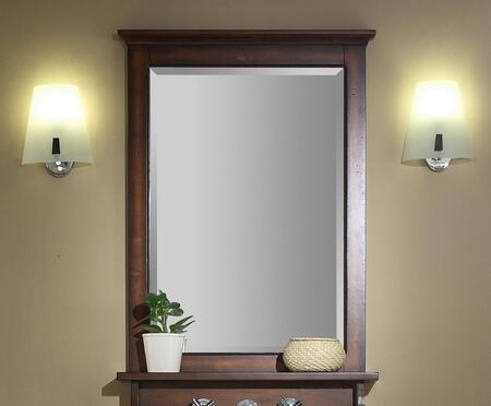 Xylem MISLANDER24BN  Rectangular Portrait Bathroom Mirror
