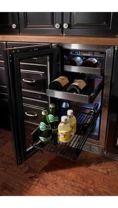 Perlick HP15BS1LDNU  Signature Series Freestanding Compact Beverage Center