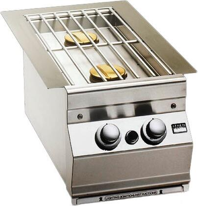 Built In Double Side Burner with Hot Surface Ignition  for Aurora Grills
