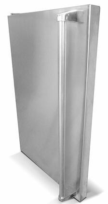 RCS SSF Stainless Steel Refrigerator Door