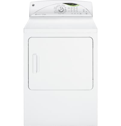 GE GTDS570EDWW Electric Dryer