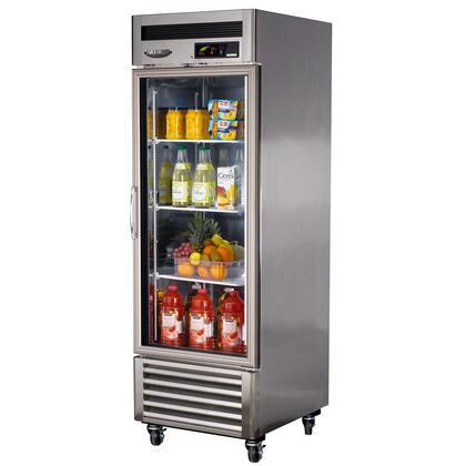 Turbo Air MSR23G1 Super Deluxe Standard Reach In Solid Door Refrigerator