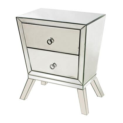 Sterling 11454 Thurso Series Freestanding Wood 2 Drawers Cabinet