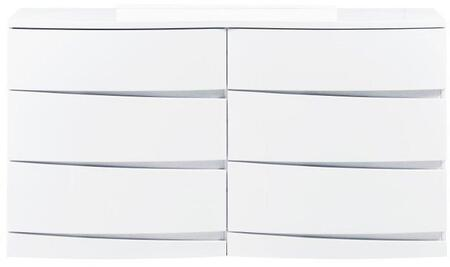 Global Furniture USA AURORAWHD Aurora Series  Dresser