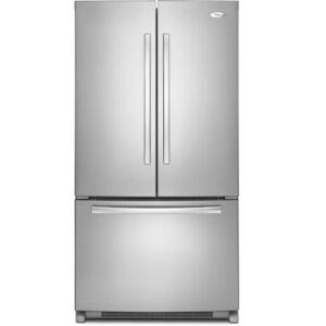 Whirlpool GX5FHTXVA  French Door Refrigerator with 24.8 cu. ft. Capacity in Satina