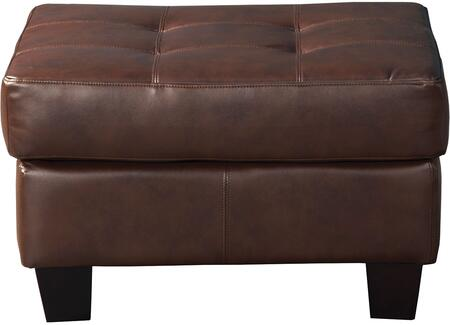 Coaster 504074 Samuel Series Contemporary Bonded Leather Wood Frame Ottoman