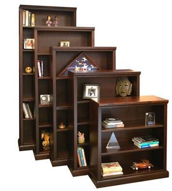 Legends Furniture RP6860BRCRoosevelt Park Series  Bookcase