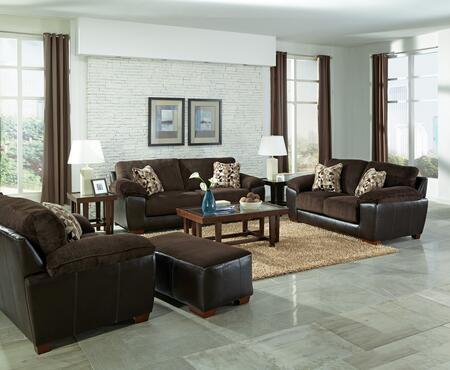 Jackson Furniture 43984PCSTLARMBNKIT1CHO Pinson Living Room