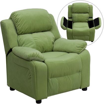 Flash Furniture BT7985KIDMICAVOGG Childrens Microfiber Wood Frame  Recliners
