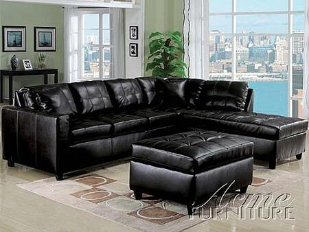 Acme Furniture 152003 Milano Series  Bonded Leather Sofa