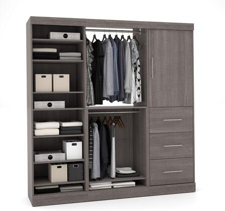 "Bestar Furniture 25850 Nebula By Bestar 80"" Storage Kit"