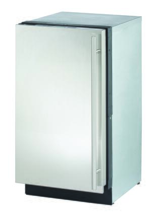 """U-Line U-3018CLRS 3000 Series 18"""" Clear Ice Machine With Heavy duty Ice Scoop-Stainless"""
