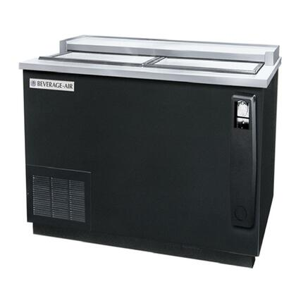DW49 Remote Horizontal Bottle Cooler Deep Well in [Color], with 2 Solid Self-closing Doors, 3 Dividers