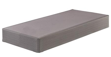Signature Design by Ashley M81X Foundation Grey Size with Outer Covering Polyester and Fully Assembled in Grey