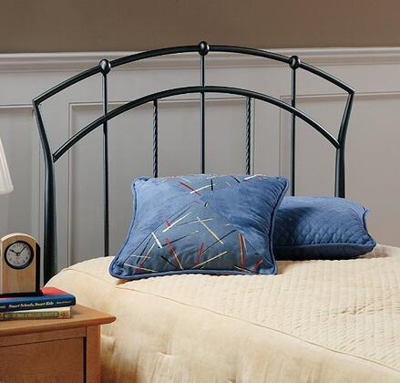 Hillsdale Furniture Vancouver Collection 1024HXR Size Headboard with Rails, Open-Frame Panel Design and Sturdy Metal Construction in Antique Brown